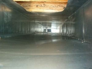 after duct cleaning picture