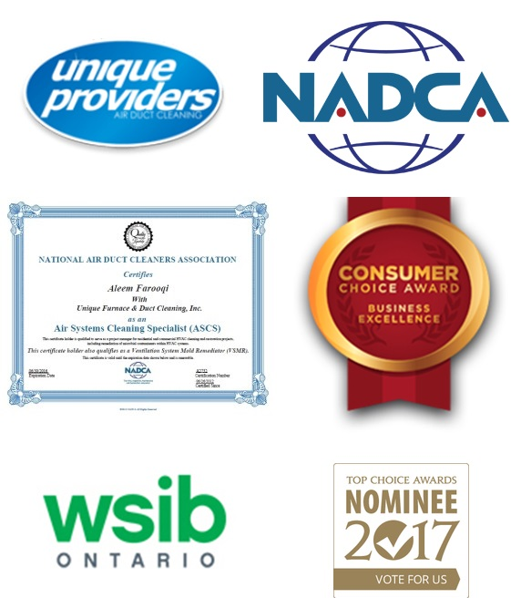 awards and certificates of unique providers